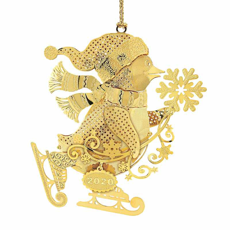 The 2020 Gold Christmas Ornament Collection 2161 006 8 12