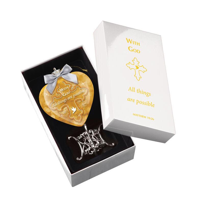 Religious Illuminated Ornament 6937 0013 d open box