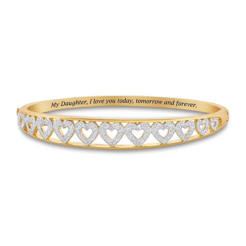 My Daughter Forever Diamond Bangle 5120 001 2 1