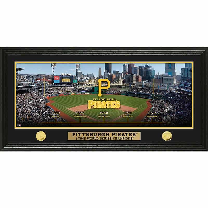 Pittsburgh Pirates World Series Panoramic Frame 4392 171 7 1