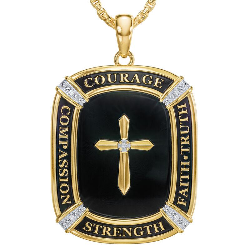 My Lifes Greatest Blessing Son Diamond Faith Pendant 6781 001 0 2