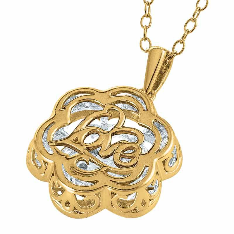Love in Bloom Diamond Pendant 6409 001 2 2