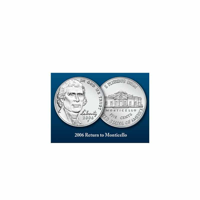 Thomas Jefferson Coin and Currency Set 1796 003 0 6