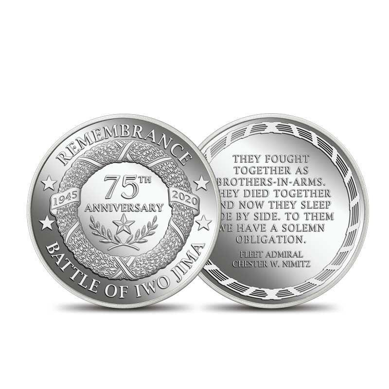Iwo Jima 75th Anniversary Coin Sculpture 6509 001 1 2