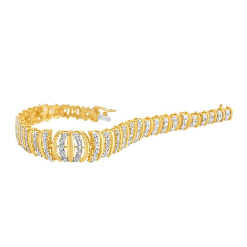 Wrapped in Elegance Diamond Bracelet 6310 001 0 2