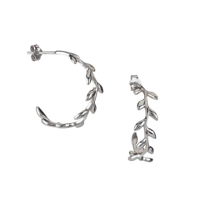 A Sterling Year Silver Hoop Earrings 10633 0012 g earring07