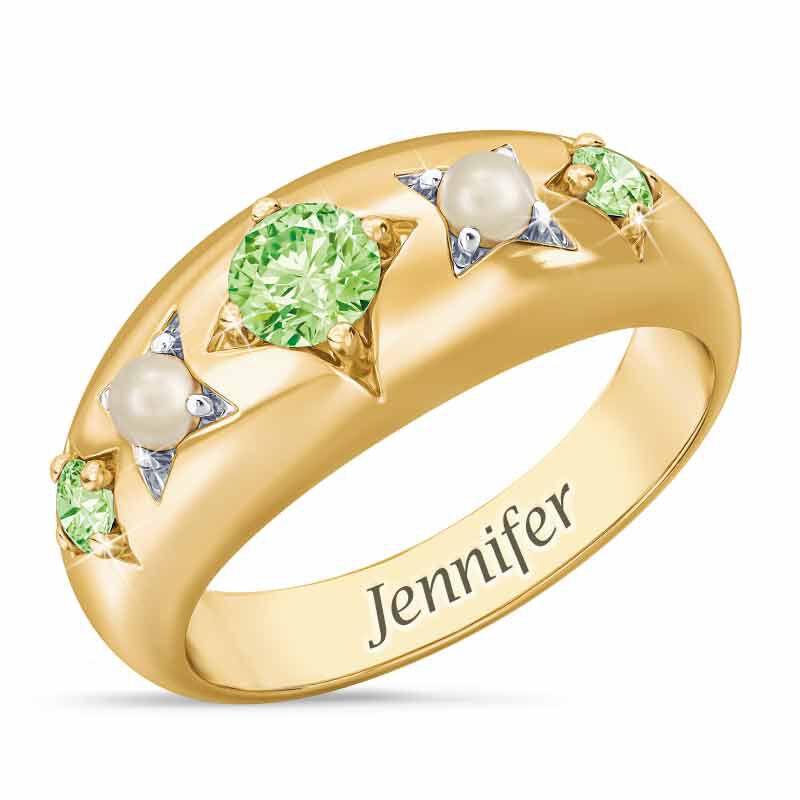 Royal Radiance Personalized Birthstone Ring 1906 001 1 8