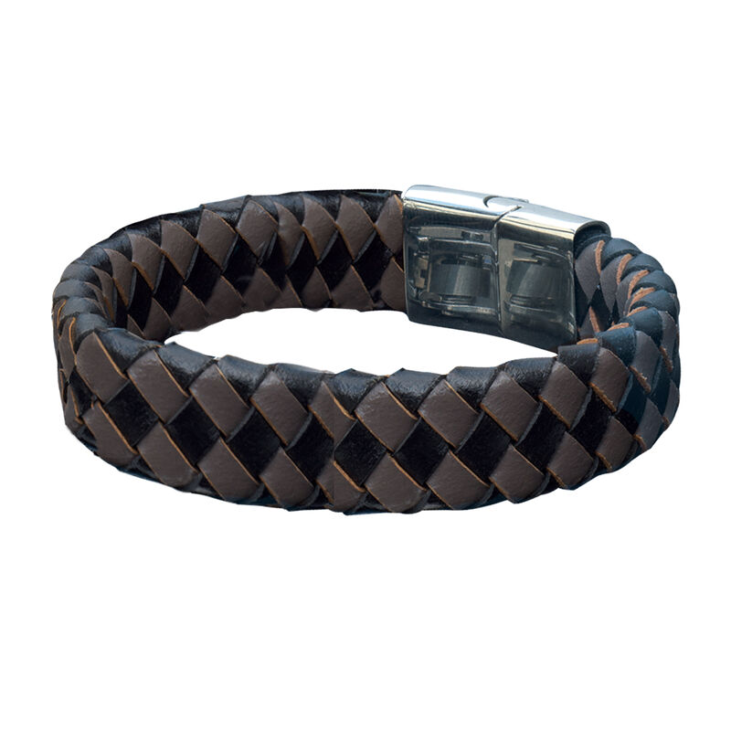 Infinite Style Mens Bracelet Collection 6693 0017 b brown