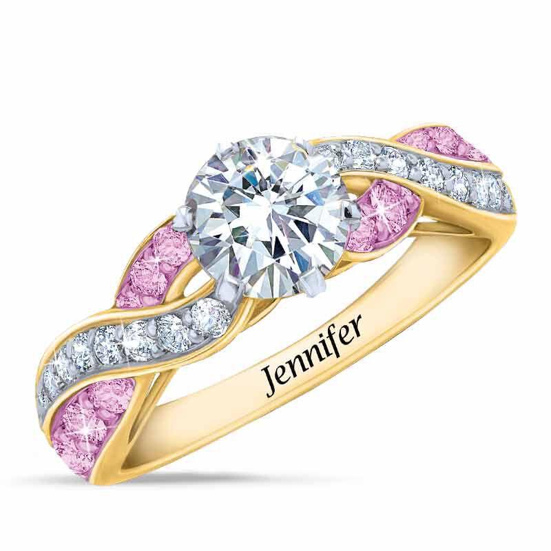 Birthstone Swirl Personalized Ring 5361 001 0 6