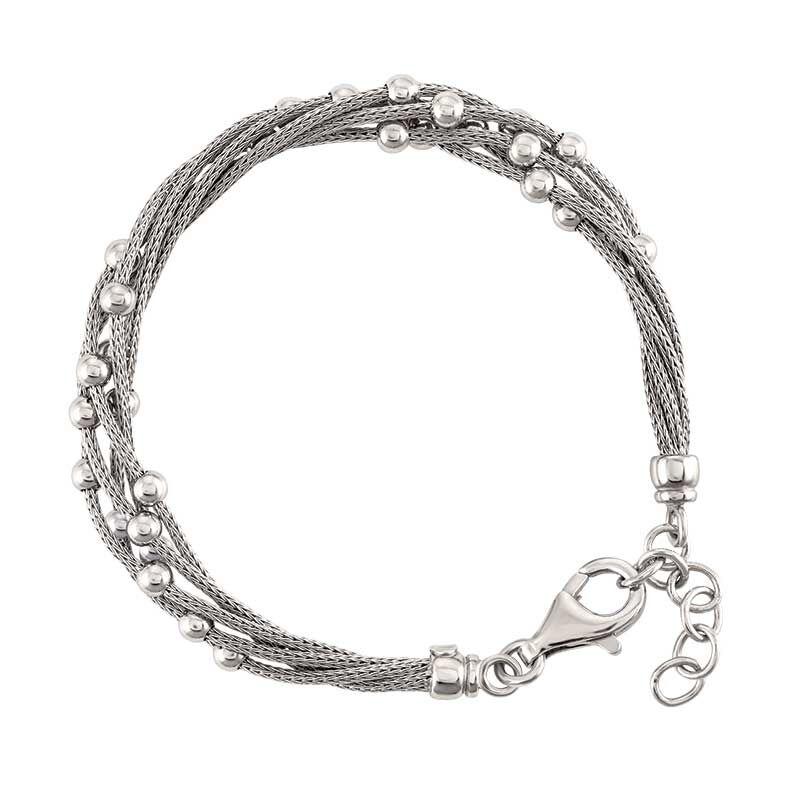 Stella Italia Sterling Silver Bracelet 6356 001 5 2