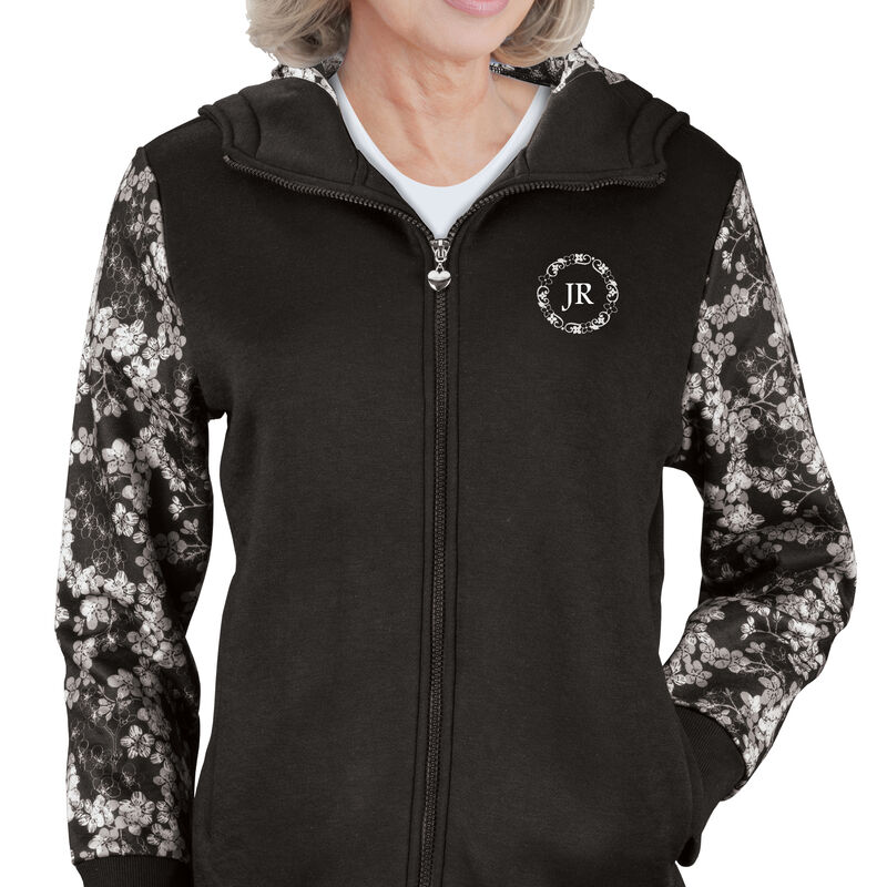 The Personalized Zip Up Hoodie 6388 0017 m model