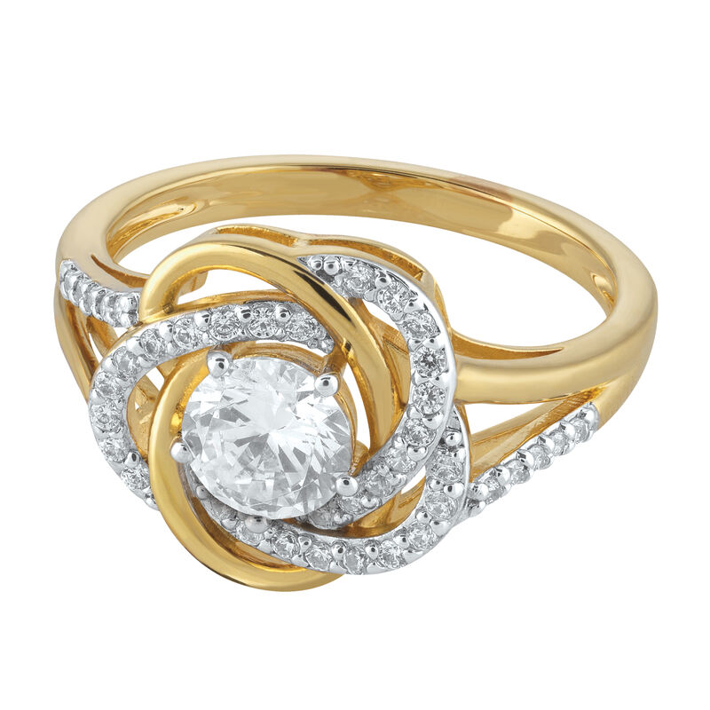 The Love Knot Ring 6720 0014 b flat