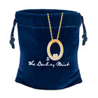 I Will Always Love You Daughter Diamond Pendant 10011 0014 g gift pouch