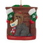 2021 Dog YorkieLH Ornament 6428 0365 a main
