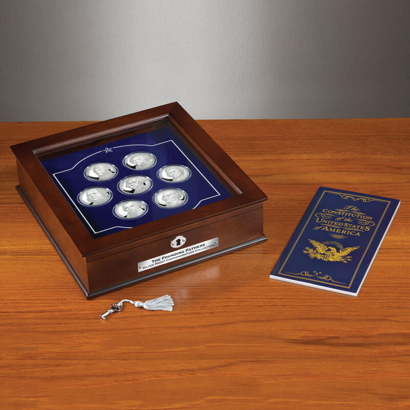 The Founding Fathers Silver Proof Commemoratives Collection 6287 001 9 6