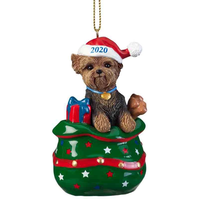 The 2020 Yorkie Puppy Cut Ornament 6428 027 4 1