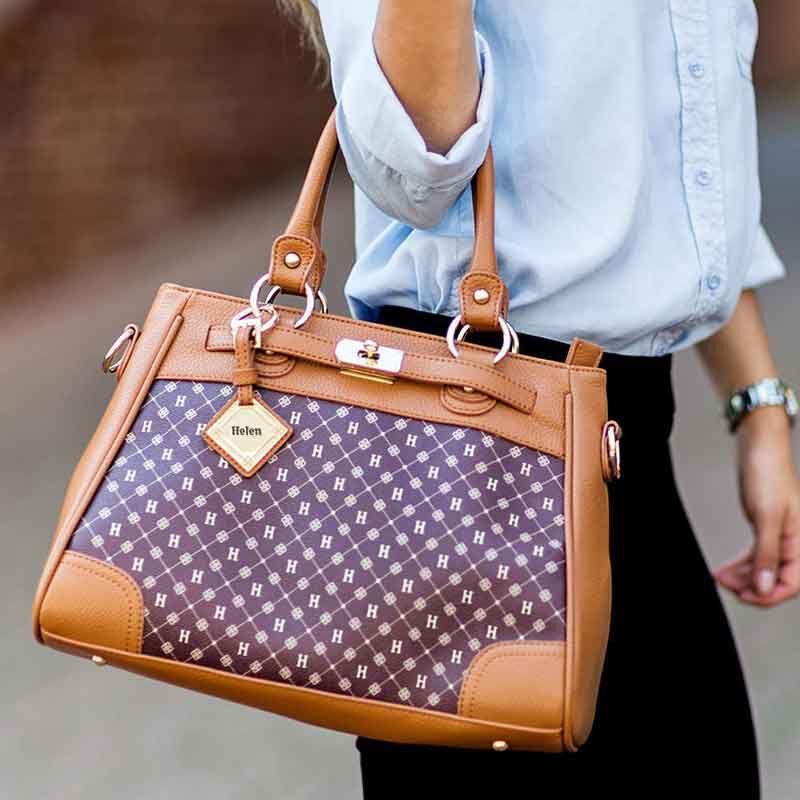 Personalized Initial Handbag 1520 002 5 4