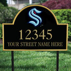 Seattle Kraken Address Plaque 1014 0069 b garden