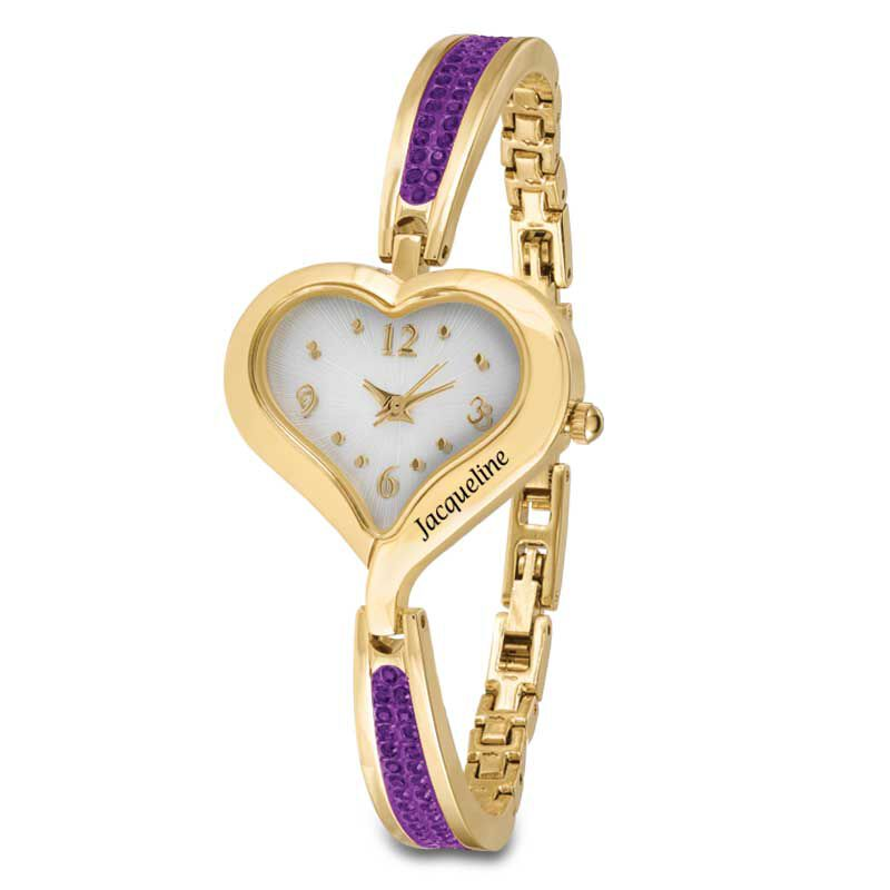 The Her First Name Birthstone Watch 6015 001 8 2