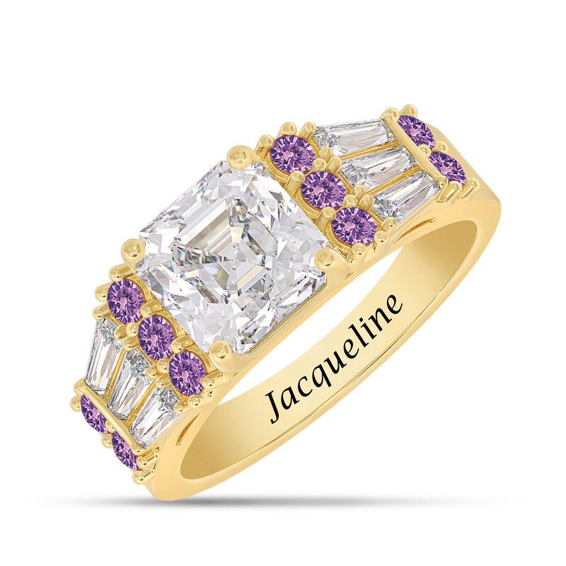 Birthstone Statement Ring 10142 0016 b february