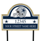 NFL Pride Personalized Address Plaques 5463 0405 a cowboys