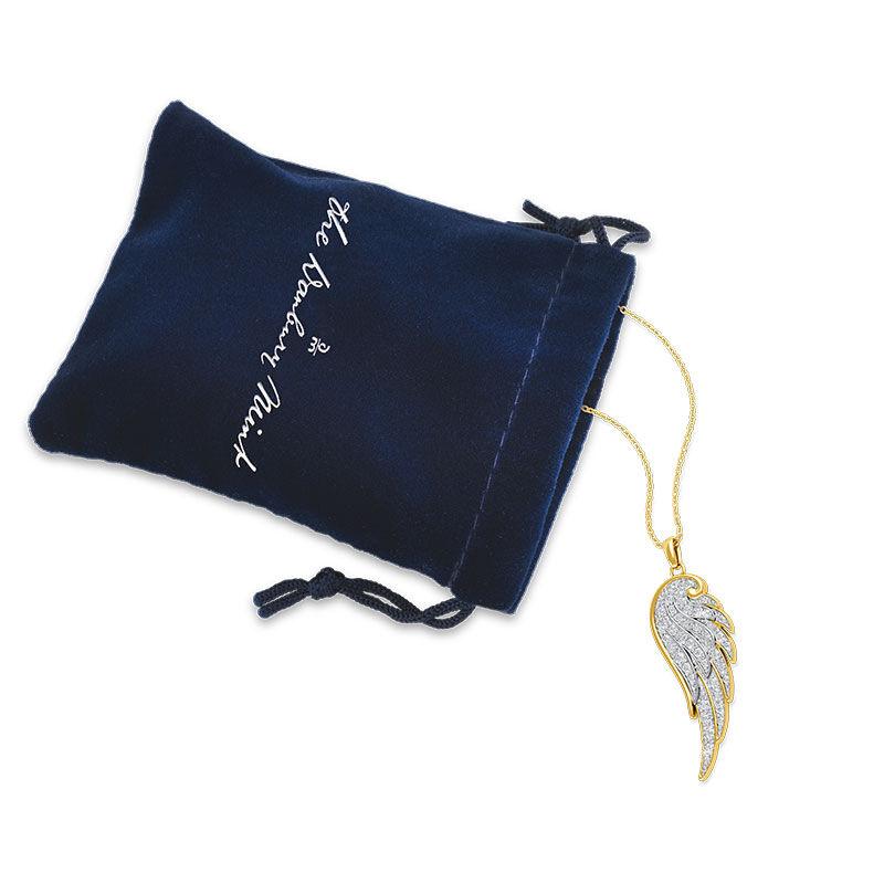 Angel Wing Diamond Pendant 1567 001 1 3
