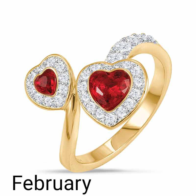 A Colorful Year Crystal Rings   Sizes 9 12 6115 004 1 2
