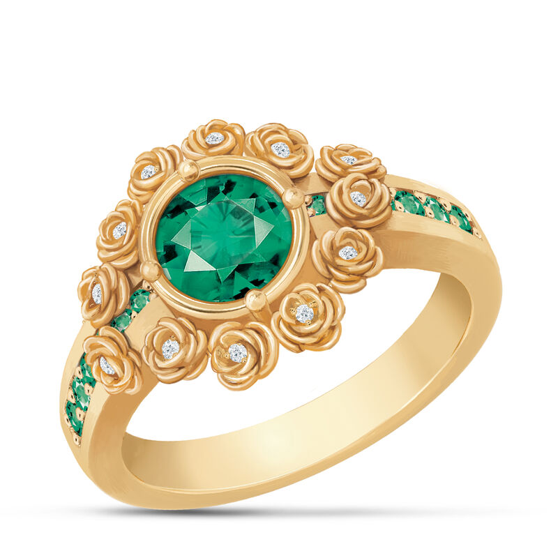A Dozen Roses Birthstone Diamond Ring 6874 0018 e may
