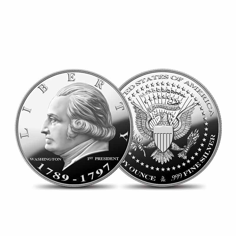 US Presidential Silver Commemoratives 9154 006 2 1