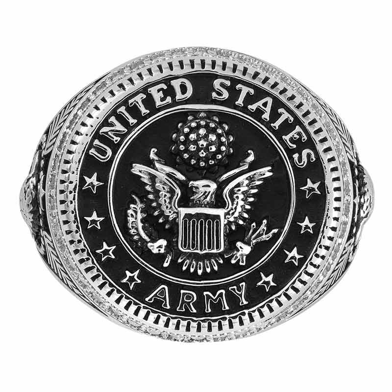 Silver Salute US Army Ring 2541 001 0 2