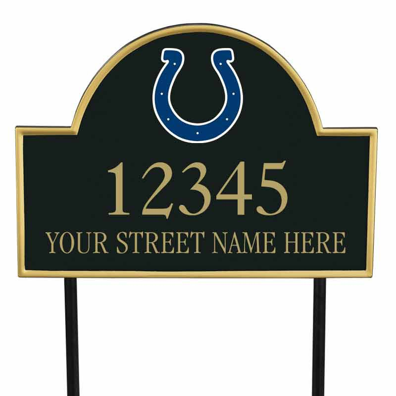 The NFL Personalized Address Plaque 5463 0355 k colts