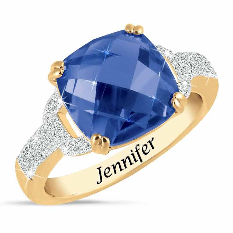Birthstone  Diamond Ring 1159 001 5 9
