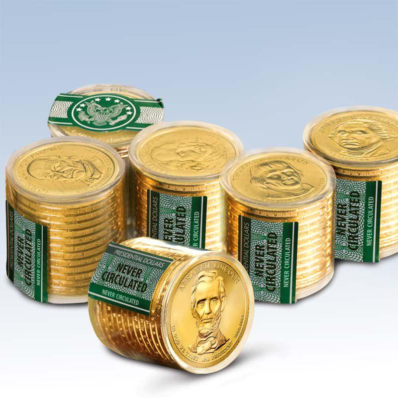 Presidential Dollar Rolls 8682 025 5 1