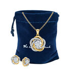 A Forever Bond Love Knot Pendant 10132 0018 g gift pouch