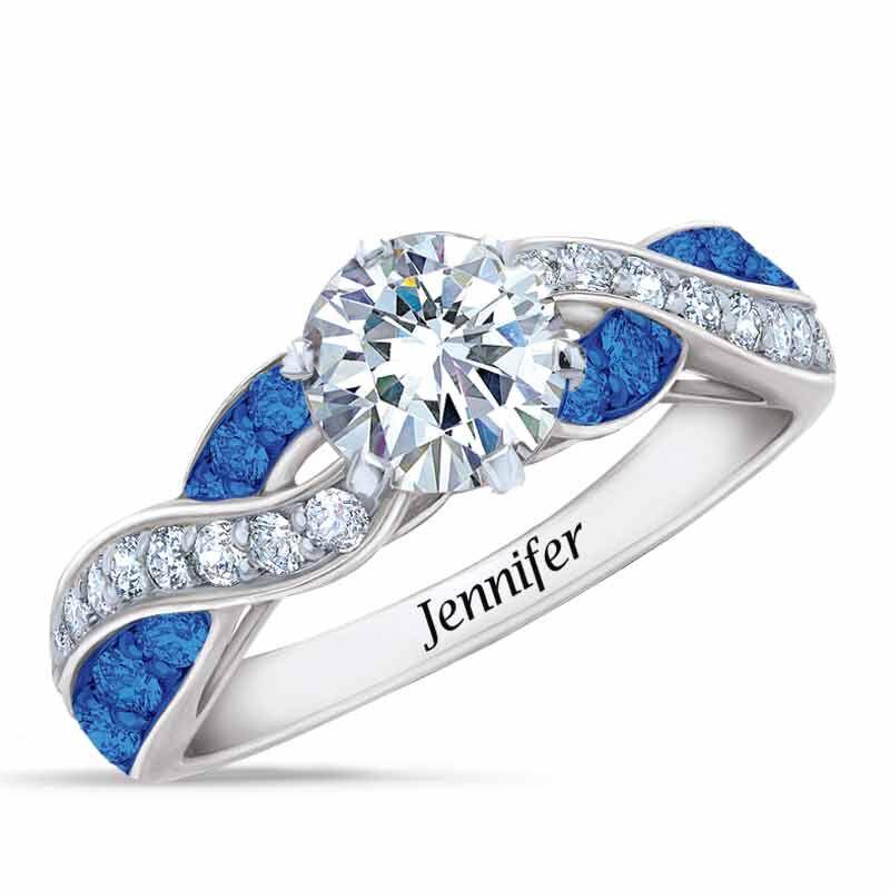 Birthstone Swirl Ring 6366 001 3 9