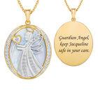 Guardian Angel Personalized Diamond Pendant 10612 0017 a main