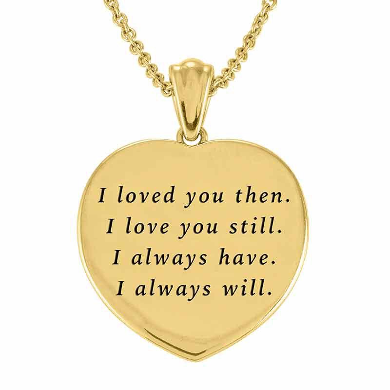 My Sweet Love Mocha Heart Pendant 6410 001 9 2