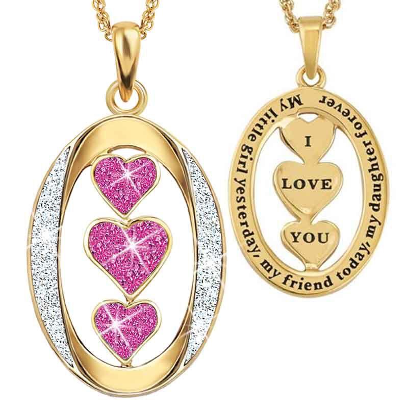 My Daughter I Love You Diamond Pendant 1136 001 3 10