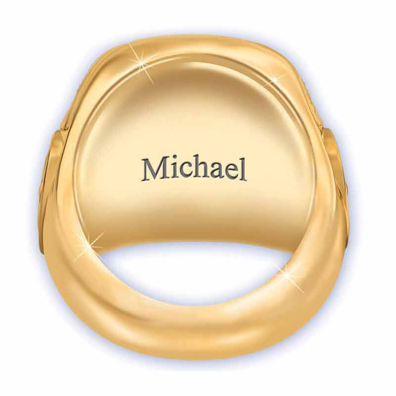 Personalized USCoast Guard Ring 1660 014 0 2