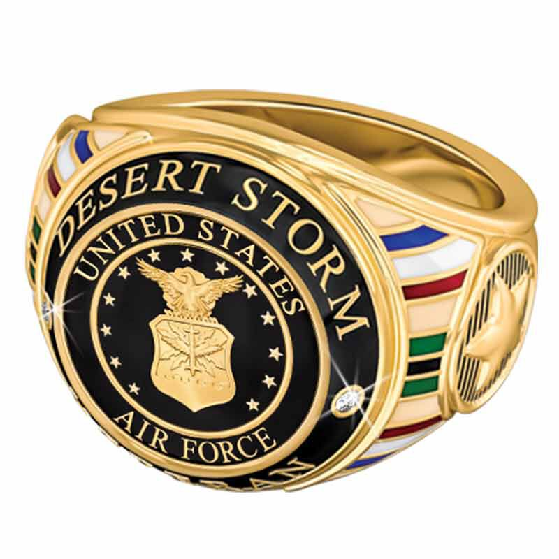 US Air Force Veteran Ring 1861 004 8 2