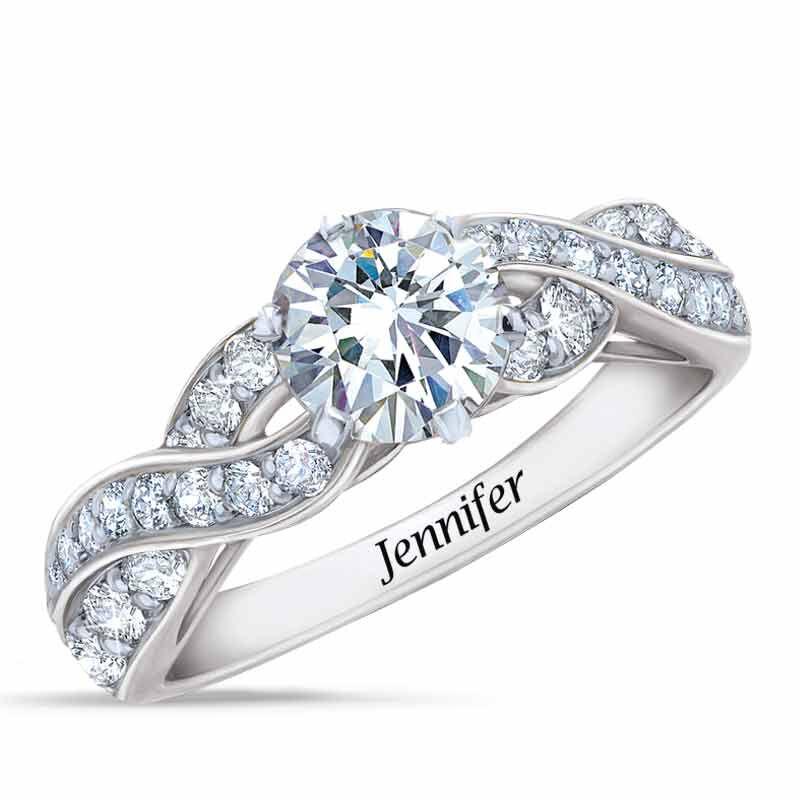 Birthstone Swirl Ring 6366 001 3 4