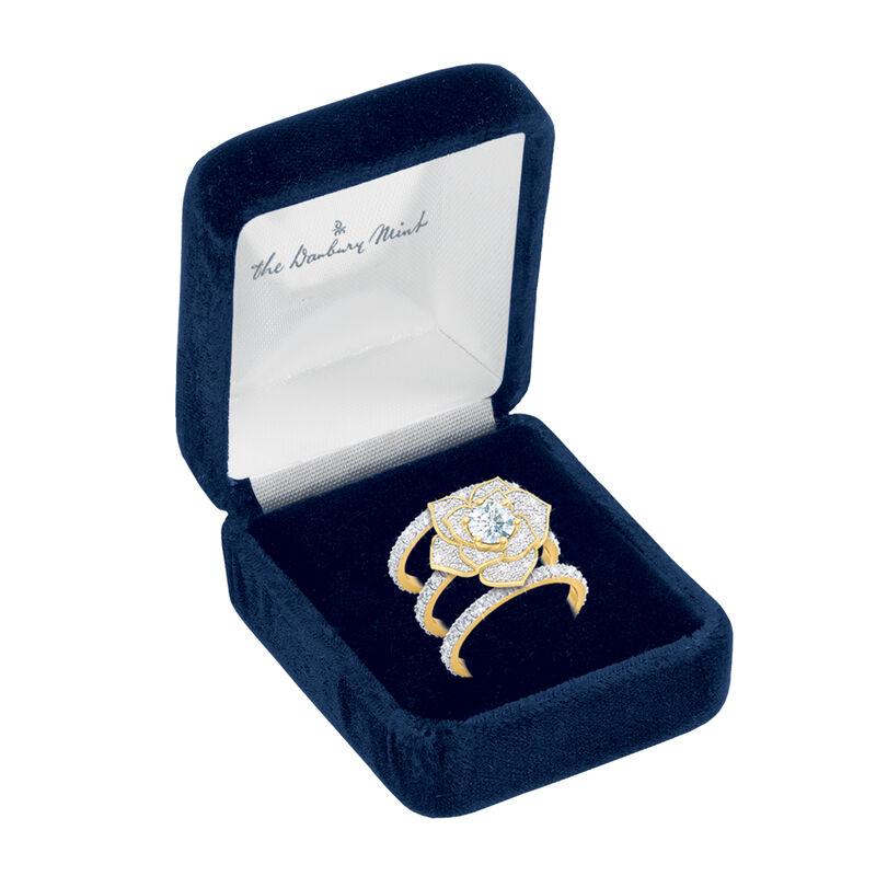The Forever Rose Ring Set 10187 0012 g gift box