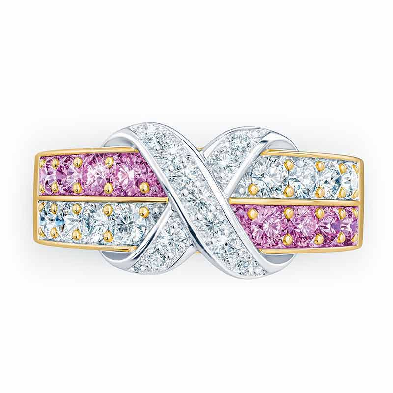 Birthstone Beauty Diamond Kiss Ring 6503 001 7 13