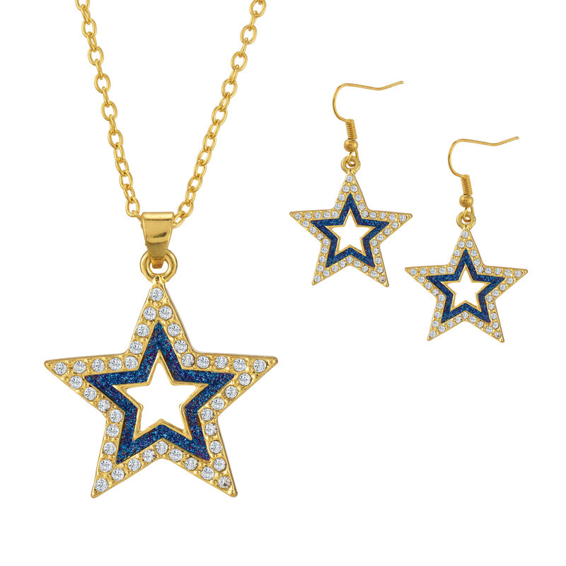 Sparkling Statements Pendant and Earring collection 10028 0015 g july