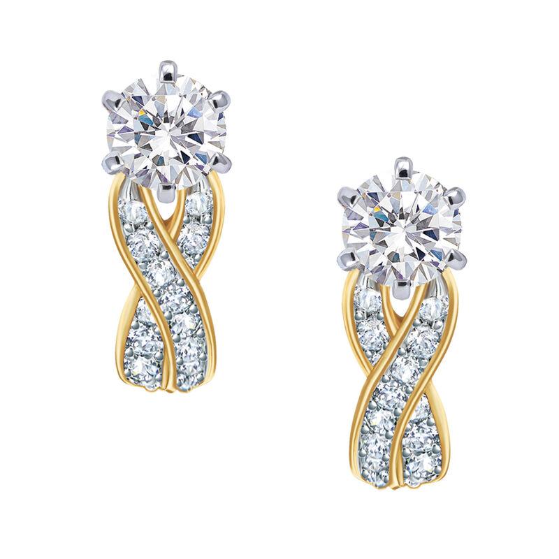The Diamonisse Bridal Earrings 6327 0029 a main