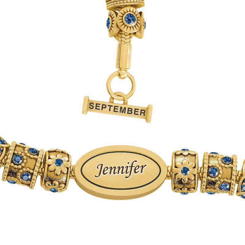 Beauty Personalized Charm Bracelet 2406 001 4 9