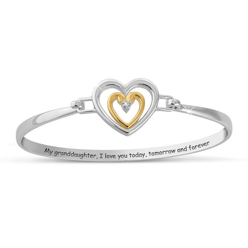 Granddaughter I Love You Diamond Bracelet 2458 001 1 1