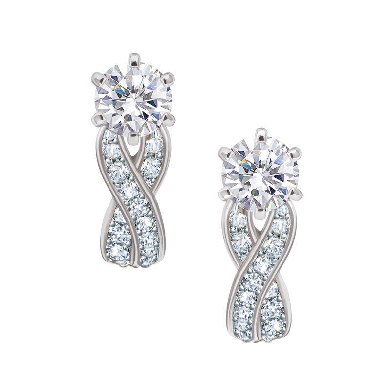 Birthstone Swirl Earrings 6366 0021 d april
