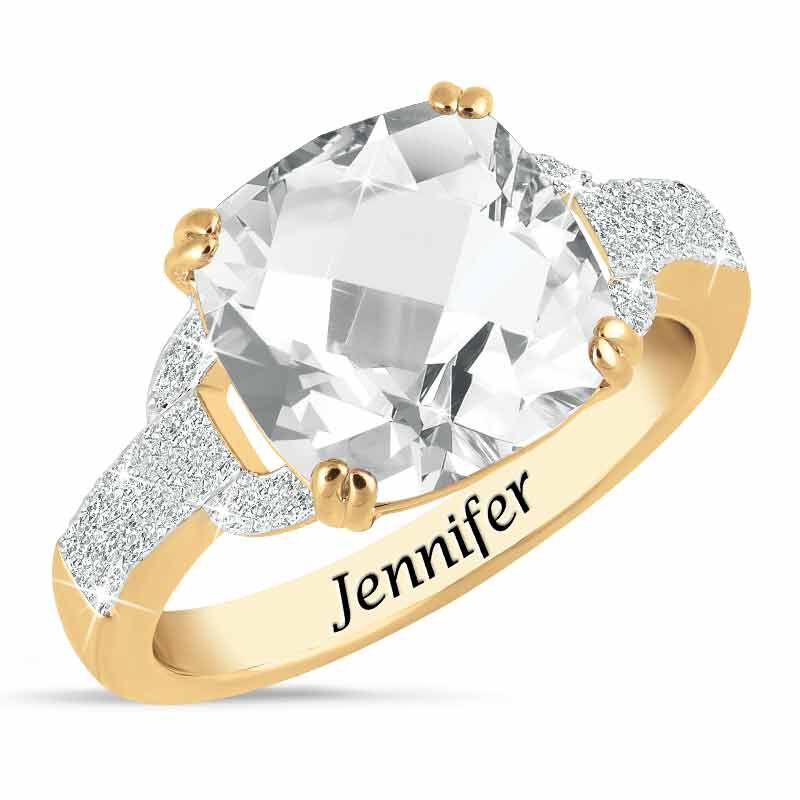 Birthstone  Diamond Ring 1159 001 5 4