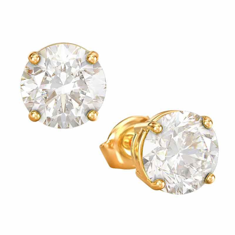 Birthstone Stud Earrings 3359 013 4 4